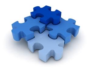 Imagen de 4 piezas rompecabezas